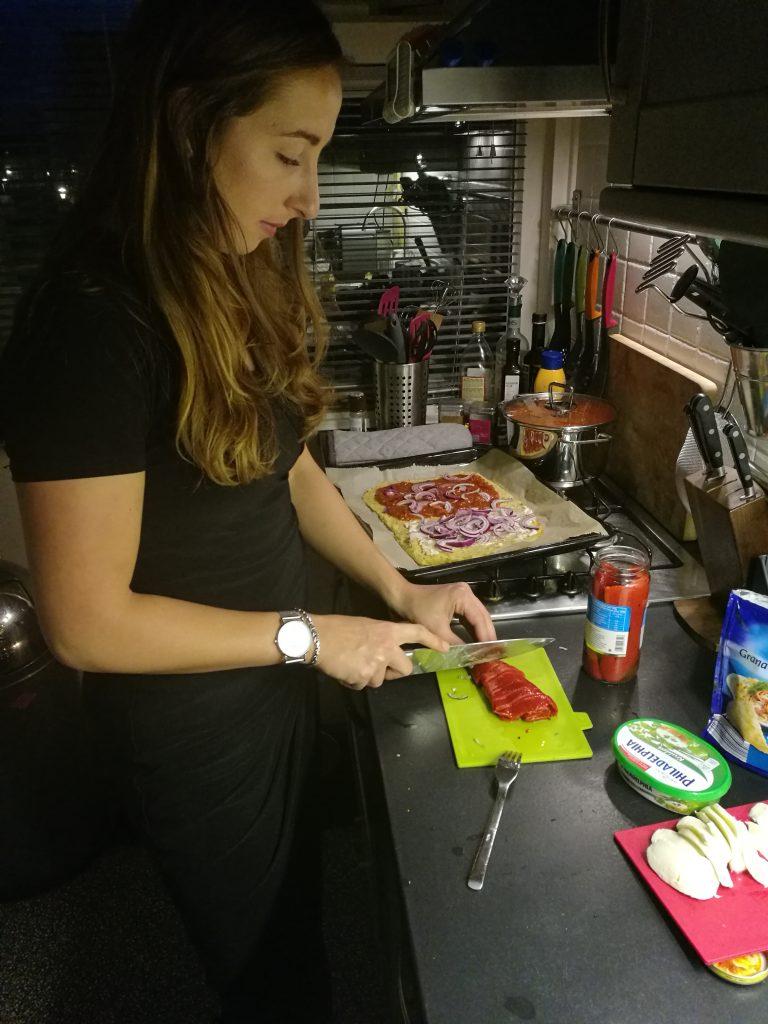 aardappel pizza
